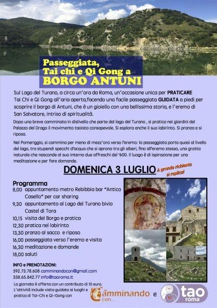 Passeggiata Borgo Antuni 3 luglio